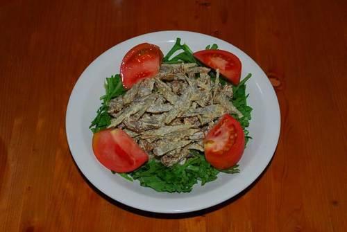 鶏ごぼうサラダ
